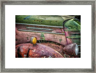 Colors Of Corrosion Framed Print