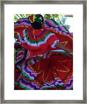 Colors Of Dance Framed Print