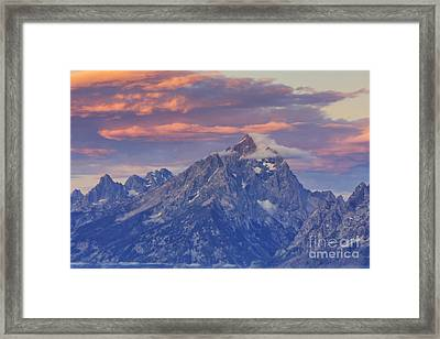 Colors Of Dawn Framed Print by Mark Kiver