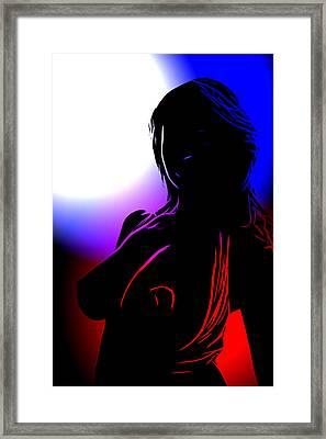 Colors Of Desire Framed Print by Steve K
