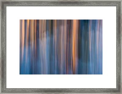 Colors Of Dusk Framed Print