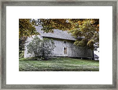 Colors Of Fall-colors Of America Framed Print by Thomas Schoeller