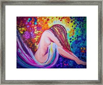 Colors Of Hope Framed Print by Jessilyn Park