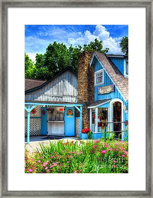 Colors Of Indiana Framed Print