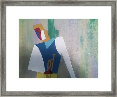 Colors Of Jazz Framed Print by Lew Griffin