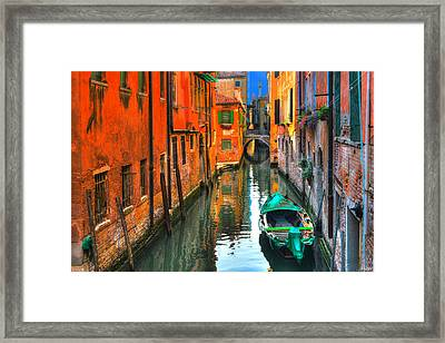 Colors Of Joy Framed Print