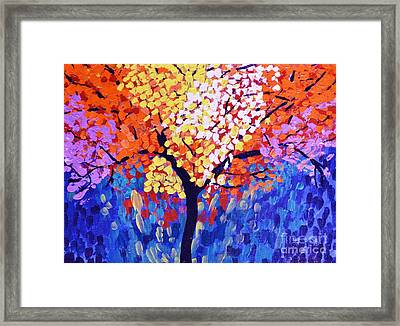 Colors Of Life Framed Print