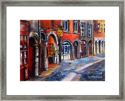 Colors Of Lyon 2 Framed Print