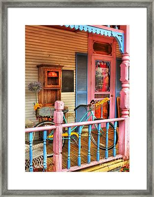 Colors Of Metamora 1 Framed Print