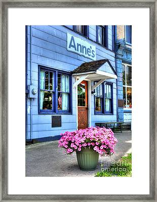 Colors Of Metamora 3 Framed Print