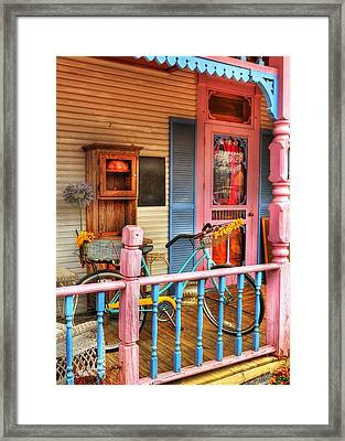 Colors Of Metamora Framed Print by Tri State Art