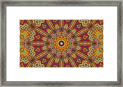 Colors Of Mexico 1 Framed Print by John  Bartosik