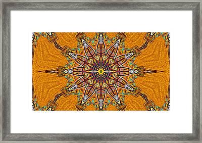 Colors Of Mexico 4 Framed Print by John  Bartosik