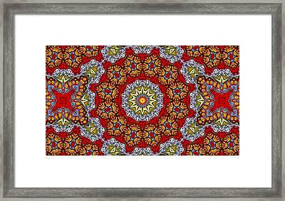 Colors Of Mexico 6 Framed Print by John  Bartosik