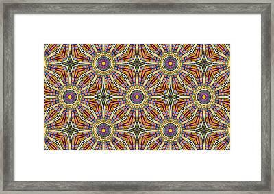 Colors Of Mexico 8 Framed Print by John  Bartosik