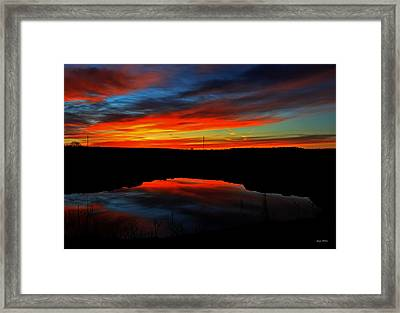 Colors Of Nature- Sunrise 002 Framed Print