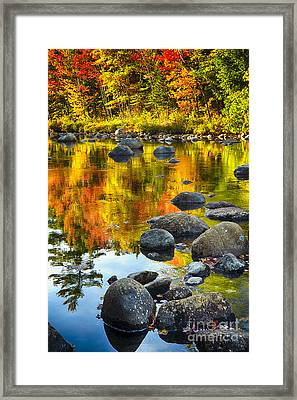 Colors Of New England Autumn I Framed Print
