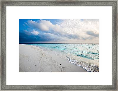 Colors Of Paradise Framed Print