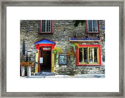 Colors Of Quebec 11 Framed Print by Mel Steinhauer