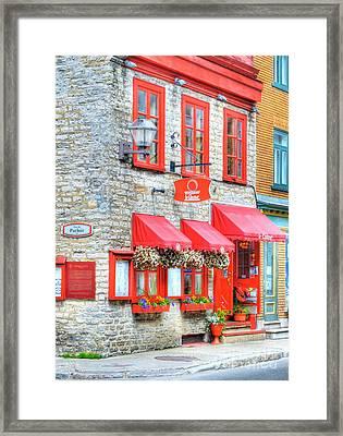 Colors Of Quebec 16 Framed Print by Mel Steinhauer