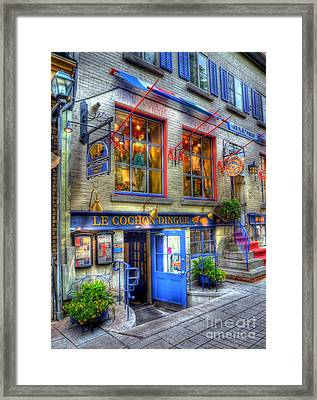 Colors Of Quebec 3 Framed Print by Mel Steinhauer