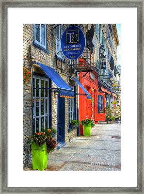 Colors Of Quebec Framed Print by Mel Steinhauer