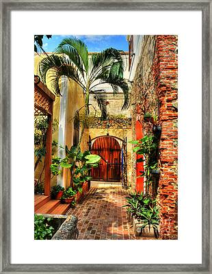 Colors Of Saint Thomas 1 Framed Print by Mel Steinhauer