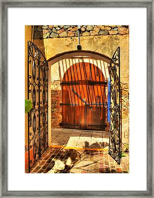 Colors Of Saint Thomas 2 Framed Print