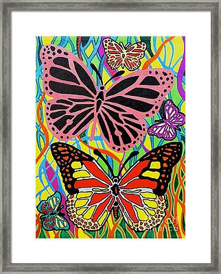 Colors Of Spring Framed Print by Molly Williams