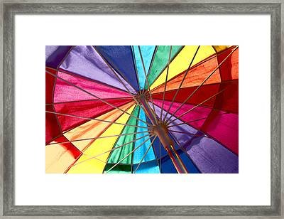 Colors Of Summer Framed Print by Lynn Sprowl