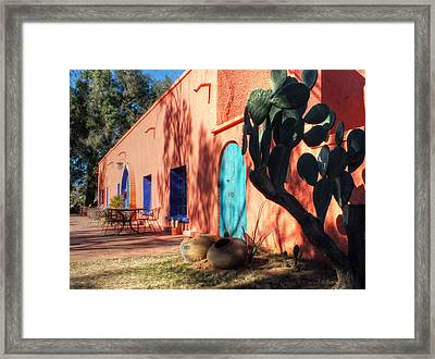 Colors Of The Desert Southwest Framed Print