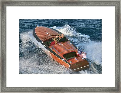 Colors Of The Flag Framed Print by Steven Lapkin
