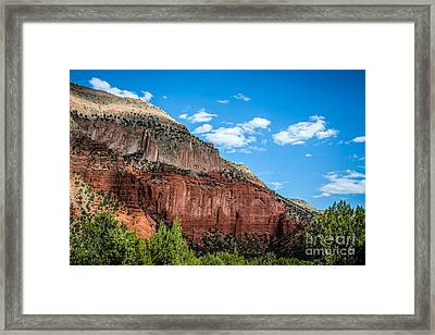 Colors Of The Jemez Framed Print by Jim McCain