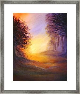 Colors Of The Morning Light Framed Print