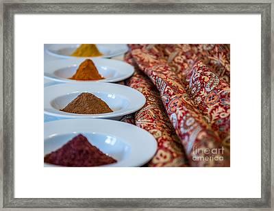 Colors Of The Orient - By Sabine Edrissi Framed Print