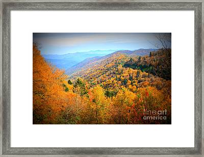 Colors Of The Smokies Framed Print