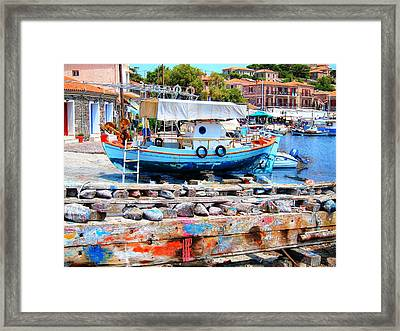 Colors Of The South Framed Print