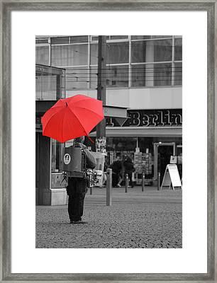 Colors On A Rainy Day Framed Print by Steve K