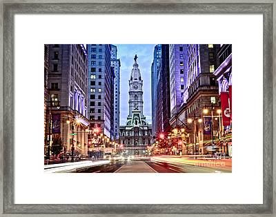 Colors On Broad Framed Print