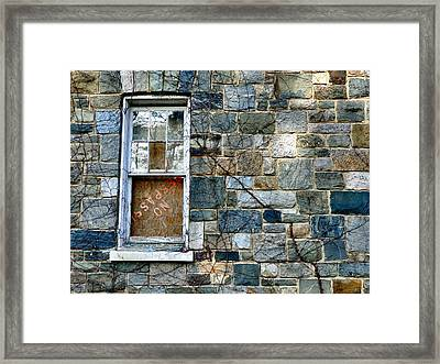 Colors On The Outside Framed Print