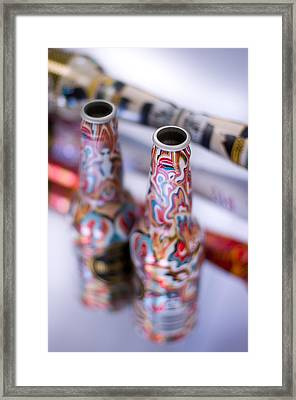 Colors Play Framed Print by Christian Tiboldi