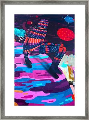 Colors Revolution Framed Print by Laura Jimenez