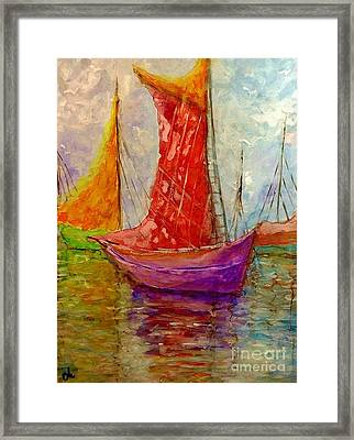 Colors Symphony.. Framed Print
