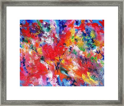 Colorscape 17. Spring Framed Print