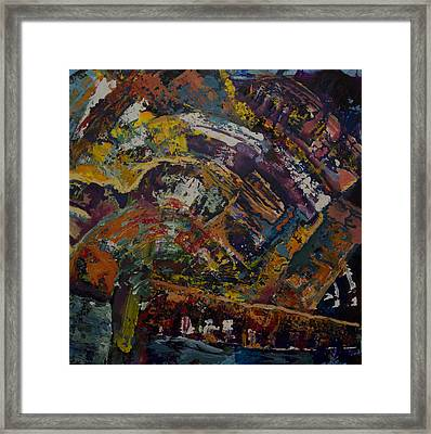 Colorscape Framed Print by Laura Evans
