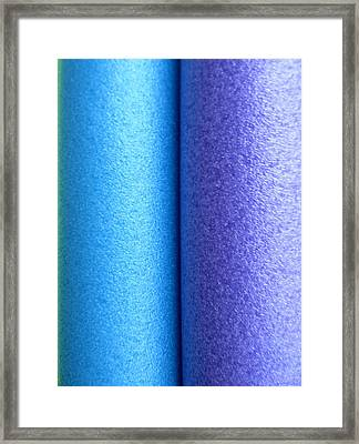 Colorscape Tubes C Framed Print