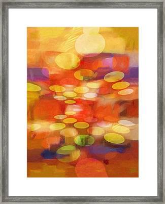 Colorspheres Framed Print by Lutz Baar