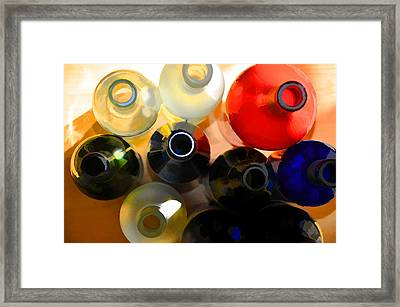 Colorsplash Framed Print by Jan Amiss Photography