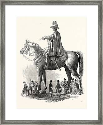 Colossal Statue Of The Duke Of Wellington Framed Print