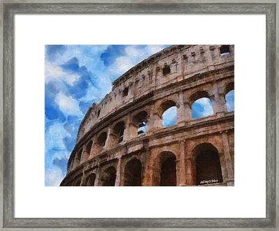 Colosseo Framed Print
